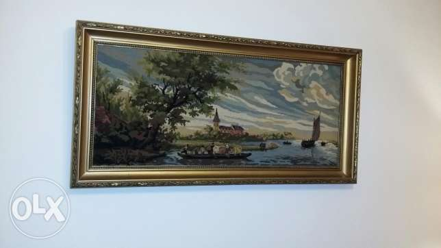 Two tableaux aubusson very excellent condition