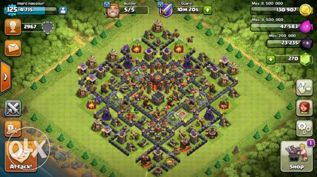 Clash of Clans lvl 125 th10