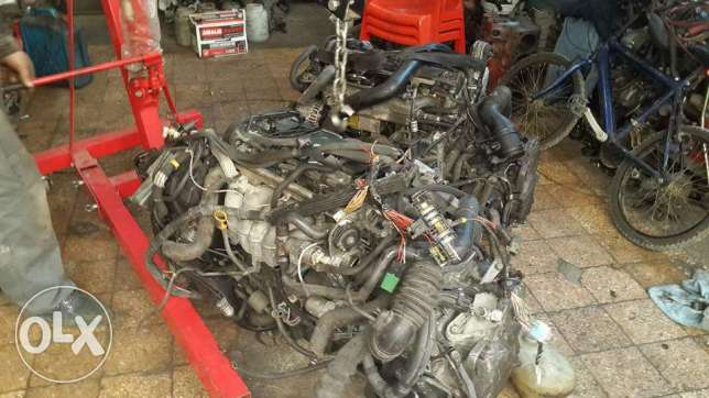 For sale: moter 5 cylinder volvo + vitesse automatic kemil