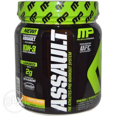 Assault pre workout