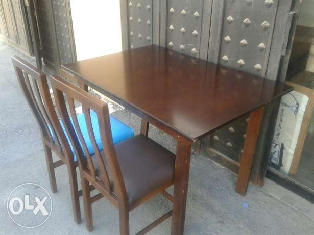 Table with 4 chair all new