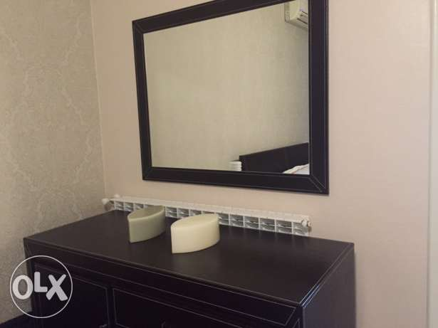 Nightstand with drawers + Mirror