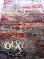 Silk rug, man made, perfect condition size: 135x195 cm