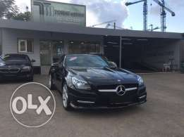 Mercedes SLK250 AMG-LINE 2012 black on black