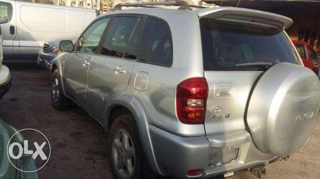 Toyota Rav 4 model 2002