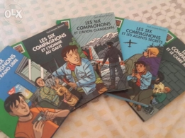 Les Six Companions Books