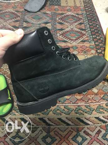 Barely used Timberlands
