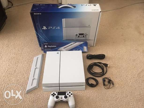 PS4, Sony Playstation 4 Destiny 500GB (White Console)