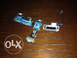 finger scanner and home button and charging port for s5