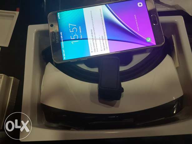 Note5 with gear VR