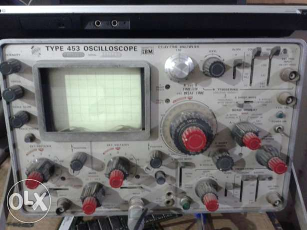 Oscilloscope Ibm 2chanel.