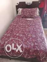 single bed and mattress in excellent condition