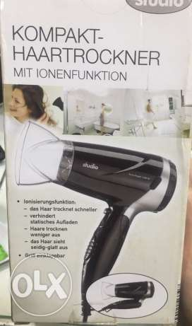 Travel hair dryer brand new Made in Germany