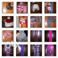 handmade scarfs and hats for women and kids