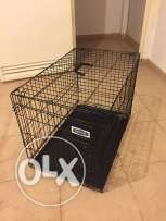 """Dog Cage """"petmate"""" for medium size dogs + free portable cage"""