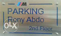 Customized Stainless Steel Signs & Nameplates