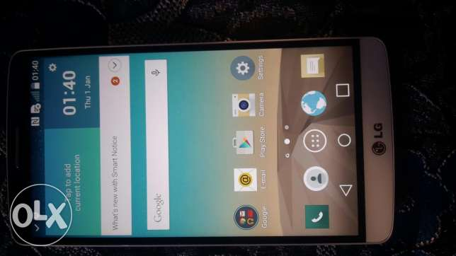 Lg g3 super clean no scratches like new with charger and earphones