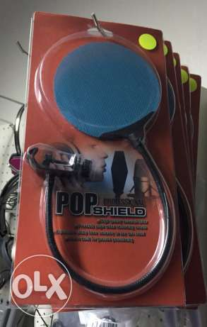 Microphone PoP shield filter 35$