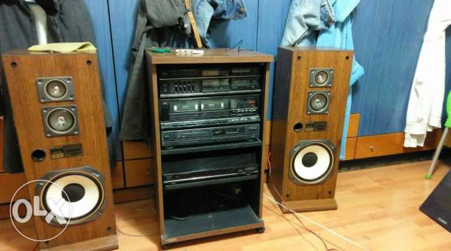 Fisher vintage stereo complete original set