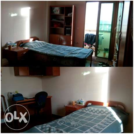 Room in sharing flat 250$/bed or all room for 450$