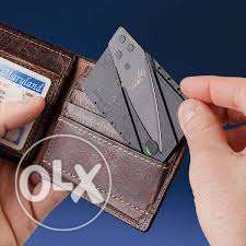 Card Knife Folding Knife Credit Card Tool Mini Wallet Camping Outdoor