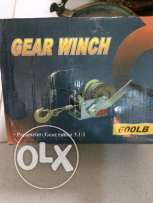 trailer gear winch
