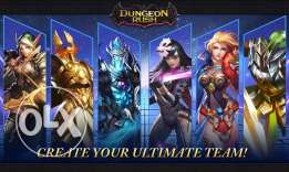 Dungeon Rush - VIP10 Top Account for sale