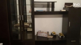 Vitrine for seating room and tv