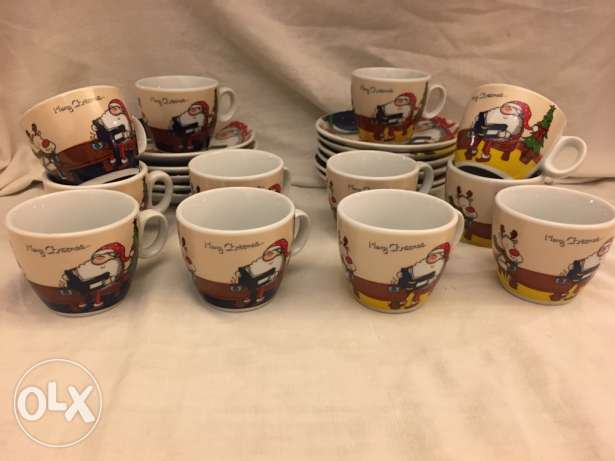 Christmas coffee cups انطلياس -  1