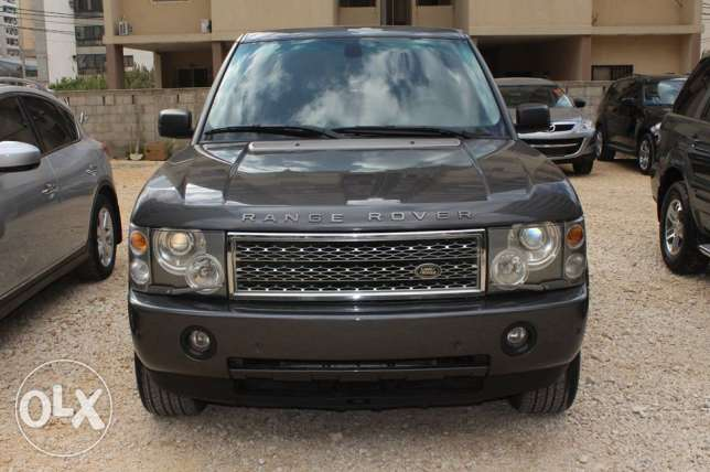 land rover vogue model2005 HSE full options