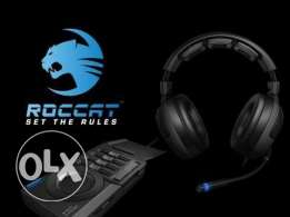Roccat Kave XTD 5.1 Digital Gaming Headset/Headphone (Brand New)