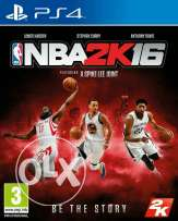 Nba2k16 for ps4 like new