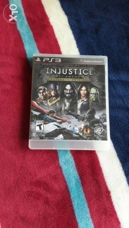 Injustice for ps3 ultimate edition