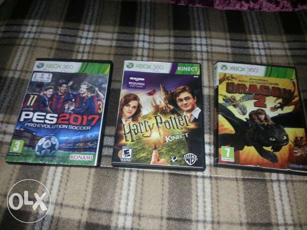 Game Harry potter, pes2017, how to train your dragon 2