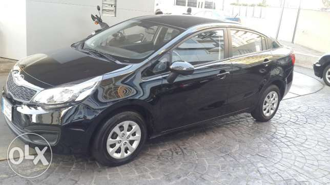 Kia Rio 2013 Tiptronic like New راس  بيروت -  5
