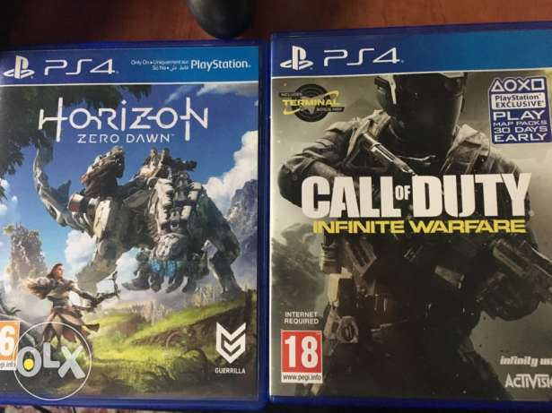 Horizon Zero Dawn + COD Infinite Warfare