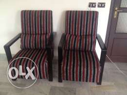 2 armchairs great condition
