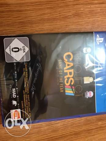 The Project Cars ps4 game