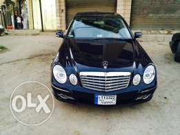mercedes benz e350 avantgarde 2008 dark blue