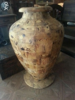 Jar natural wood