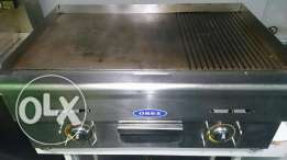 Friteuse and grill