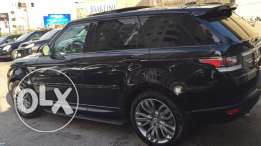 range rover sport v8 black on black super clean