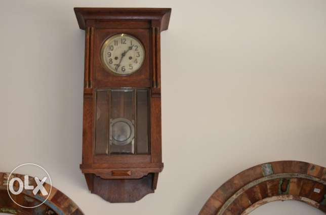 antique old germany clock
