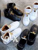 BUSCEMI shoes are available black and white size 42 used