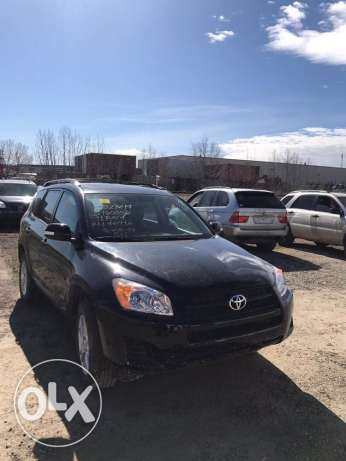 RAV4 2010 low mileage needs rear door arriving in 4 weeks