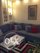 Furnished, very nice 3 bedr apart in the heart of Achrafieh