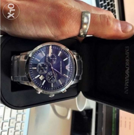 The new authentic blue gitane Armani classy watch