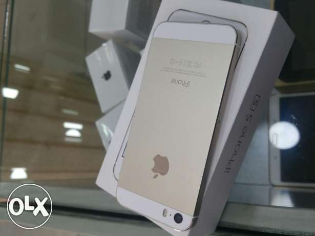 iphone 5s Gold and Silver