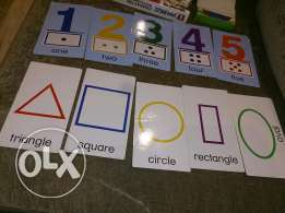 Baby einstein discovery flashcards (numbers and shapes)