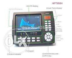 kpt 958 H, digital HD sat finder and camera's installer